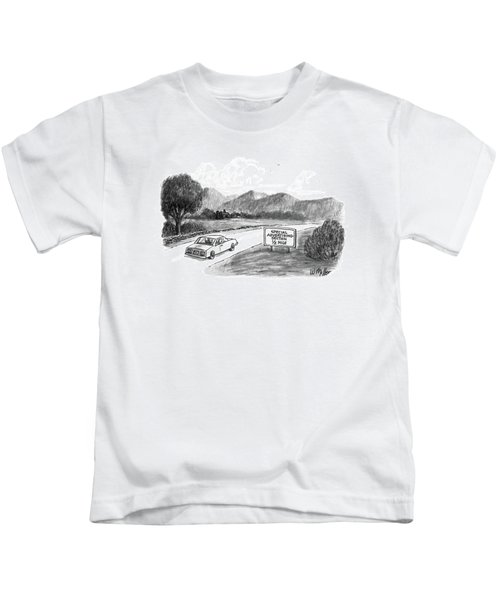 New Yorker October 20th, 1986 Kids T-Shirt