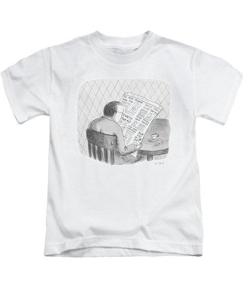 New Yorker October 25th, 1993 Kids T-Shirt