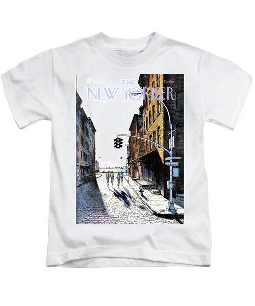 New Yorker October 2nd, 1978 Kids T-Shirt