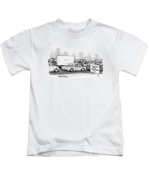New Yorker October 6th, 1986 Kids T-Shirt