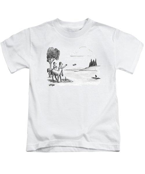 New Yorker September 24th, 1990 Kids T-Shirt