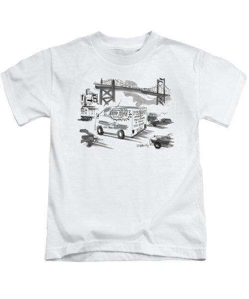 New Yorker September 27th, 1999 Kids T-Shirt