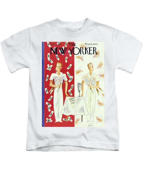 New Yorker September 7 1935 Kids T-Shirt
