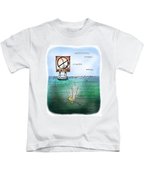 No Grasping Kids T-Shirt