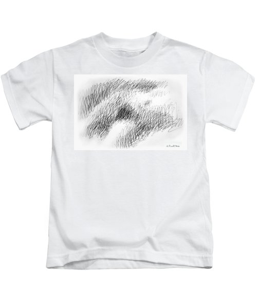 Nude Female Abstract Drawings 1 Kids T-Shirt