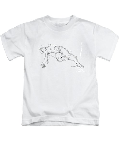 Nude Male Drawings 1 Kids T-Shirt