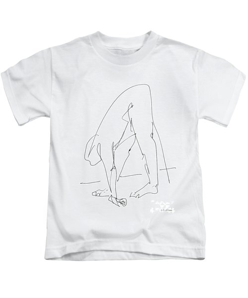 Nude Male Drawings 32 Kids T-Shirt