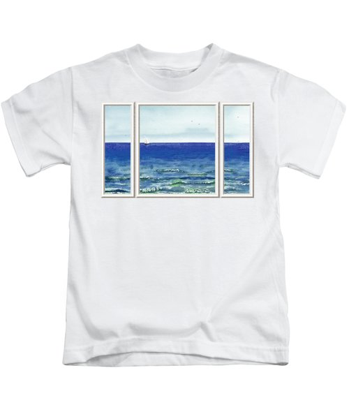 Ocean View Window Kids T-Shirt