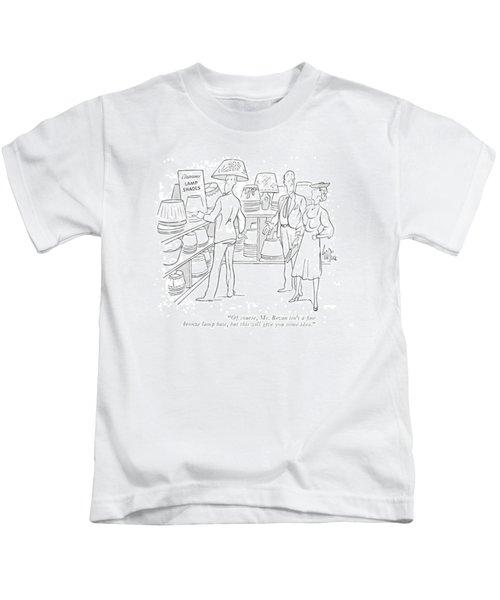 Of Course, Mr. Bevan Isn't A ?ne Bronze Lamp Kids T-Shirt