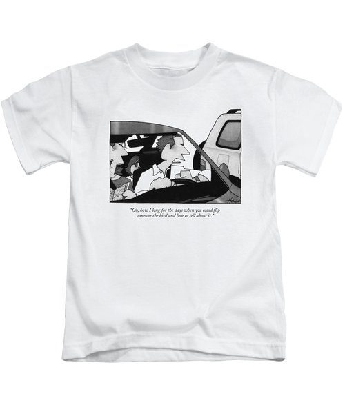 Oh, How I Long For The Days When You Could Flip Kids T-Shirt