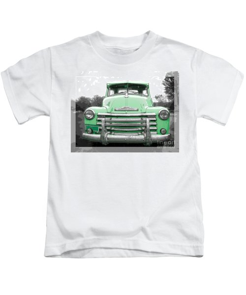 Old Chevy Pickup Truck Kids T-Shirt