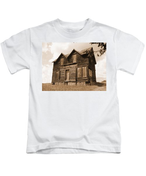 Old Cripple Creek Cabin Kids T-Shirt