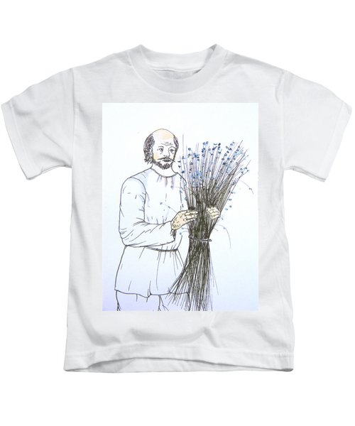 Old Man And Flax Kids T-Shirt