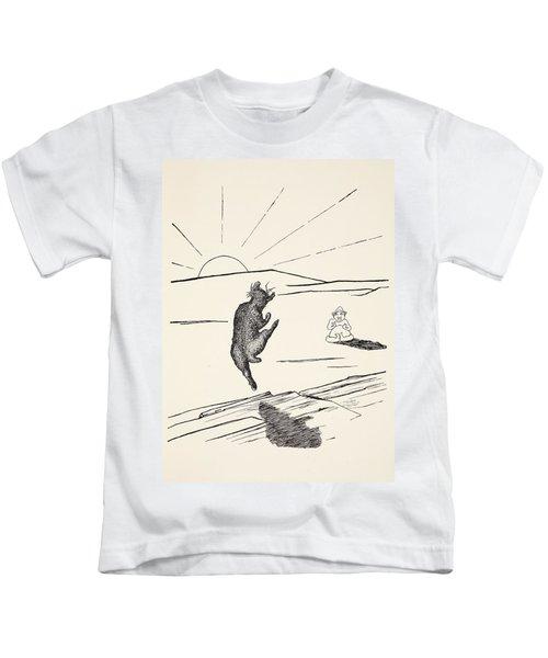 Old Man Kangaroo Kids T-Shirt by Rudyard Kipling