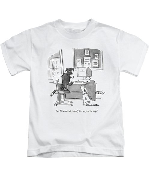 On The Internet Kids T-Shirt