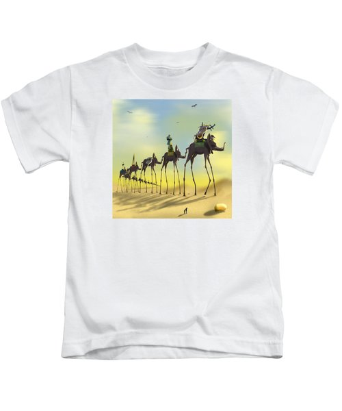 On The Move 2 Without Moon Kids T-Shirt