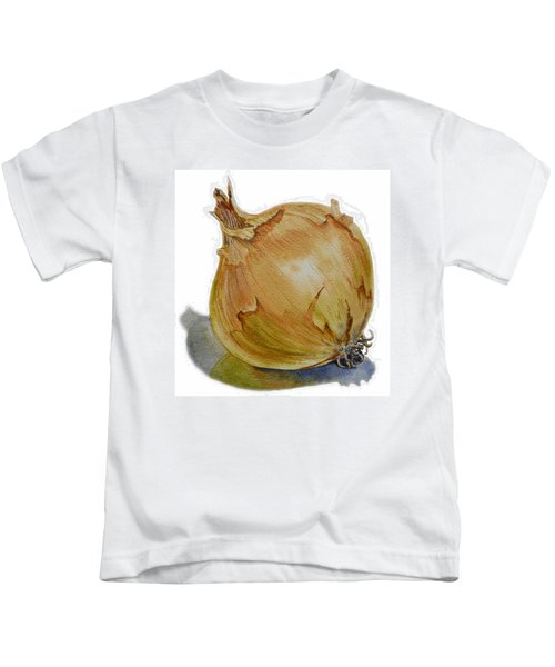 Onion Kids T-Shirt by Irina Sztukowski