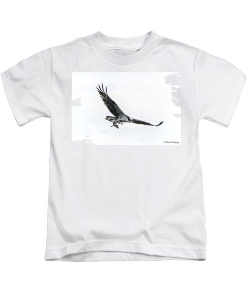 Osprey In Flight Kids T-Shirt