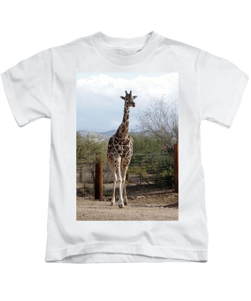 Out Of Africa  Giraffe 1 Kids T-Shirt