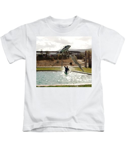 Out Of Africa  Tiger Splash 6 Kids T-Shirt