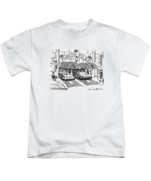 'parking Palace' Kids T-Shirt