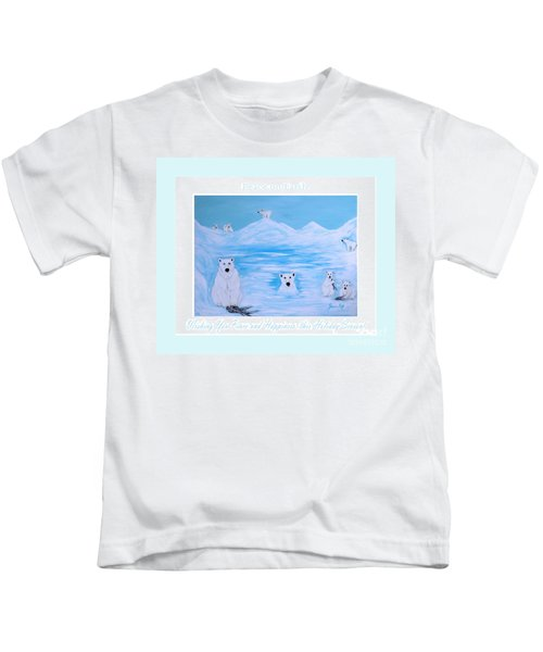 Peace On Earth Kids T-Shirt