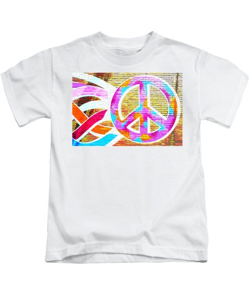 Peace Out Kids T-Shirt