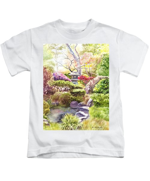 Peaceful Garden Kids T-Shirt