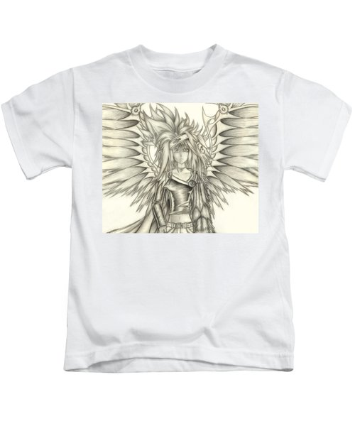Pelusis God Of Law And Order Kids T-Shirt