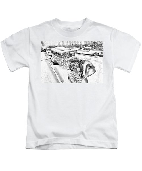 Pencil Rod Kids T-Shirt