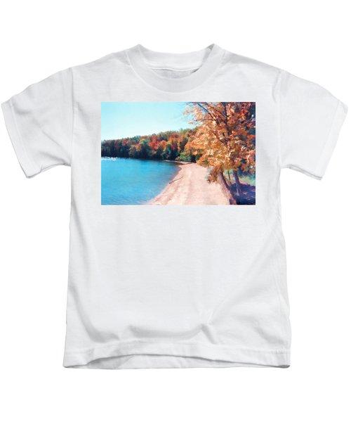 Pennsylvania Autumn 001 Kids T-Shirt