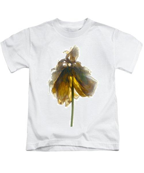 Peony Stand White Kids T-Shirt