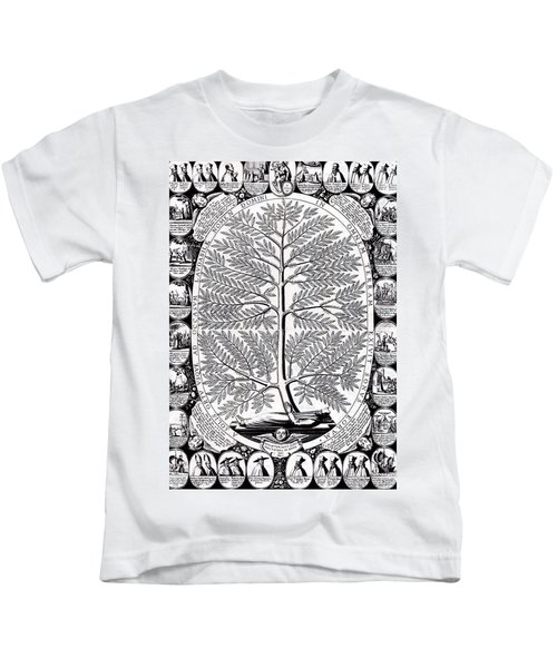 Peruvian Bark Or Jesuit Tree Kids T-Shirt