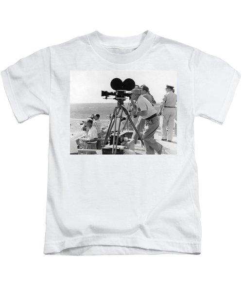 Photographers Filming An Event Kids T-Shirt