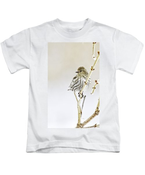Pine Siskin Kids T-Shirt