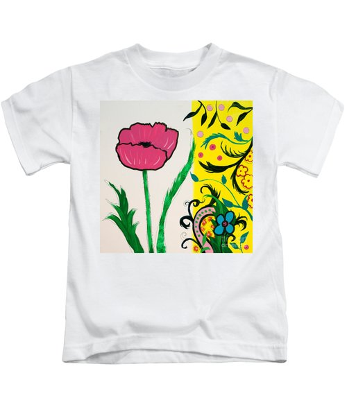 Pink Poppy And Designs Kids T-Shirt