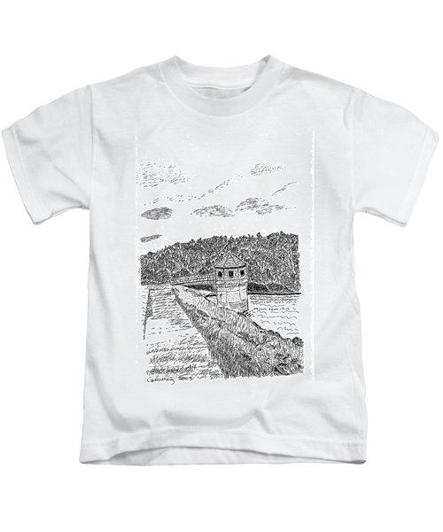 Pittsburg Dam Kids T-Shirt