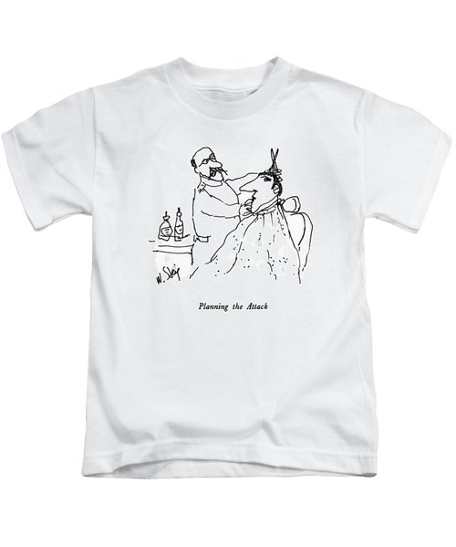 Planning The Attack Kids T-Shirt