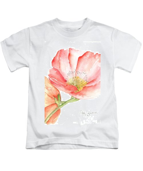 Poppy Bloom Kids T-Shirt