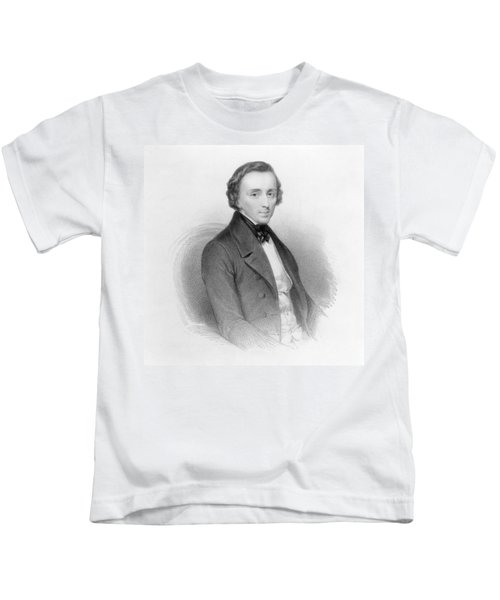 Portrait Of Frederic Chopin Kids T-Shirt