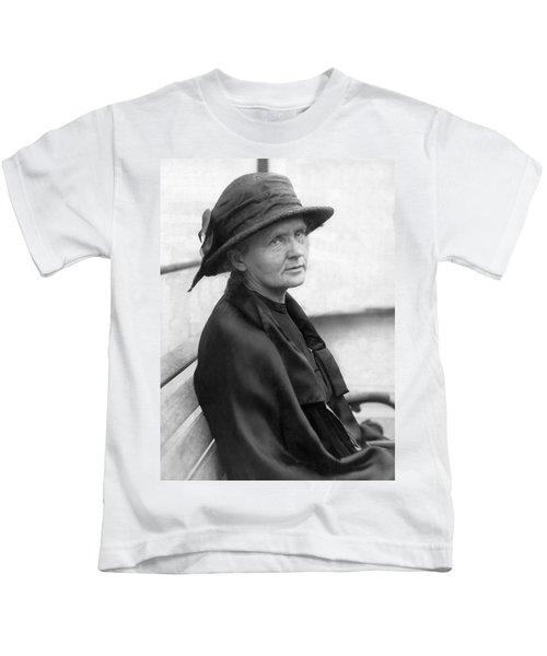Portrait Of Marie Curie Kids T-Shirt
