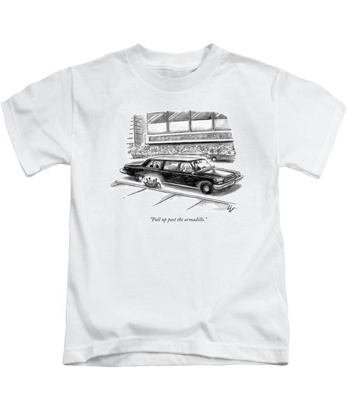 Pull Up Past The Armadillo Kids T-Shirt