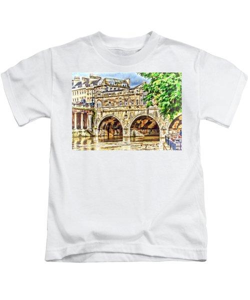 Pulteney Bridge Bath Kids T-Shirt