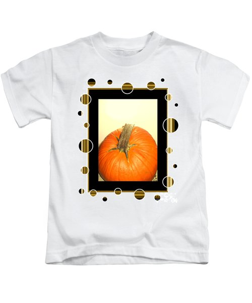 Pumpkin Card Kids T-Shirt