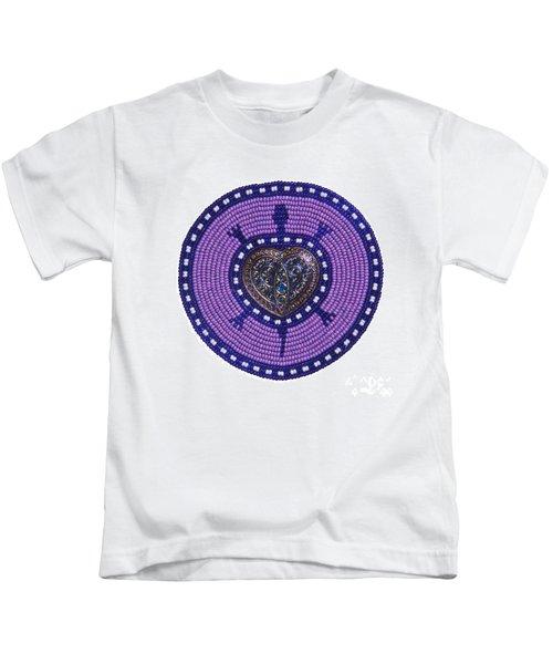 Purple Valentine 2011 Kids T-Shirt