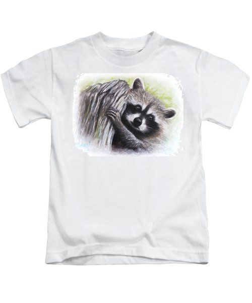 Raccoon  Kids T-Shirt