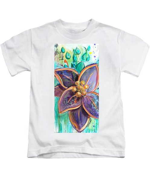 Rain Dance Kids T-Shirt