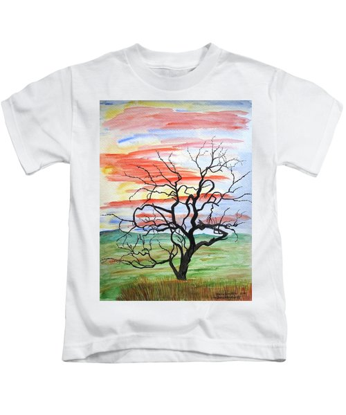 Rainbow Mesquite Kids T-Shirt