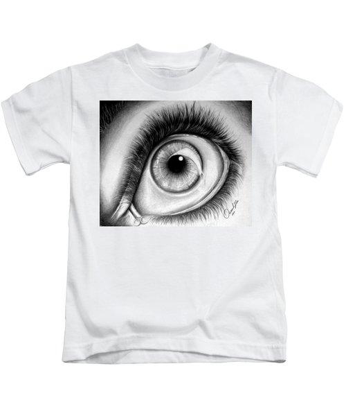 Realistic Eye Kids T-Shirt