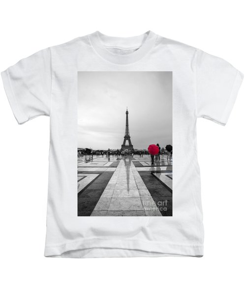 Red Umbrella Kids T-Shirt